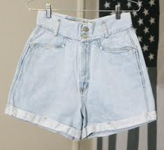 hanged high waisted shorts